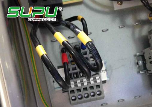 控制柜中接线端子排的规格该怎么分啊